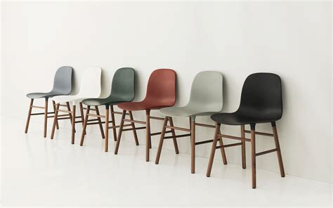 design form chairs form chair grey oak