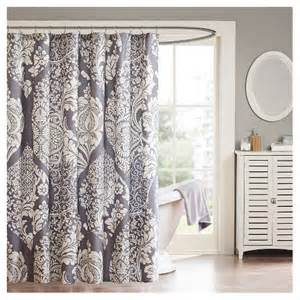 adela cotton shower curtain slate 72 quot x72 quot target