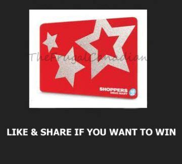 Optimum American Express Gift Card - free shoppers drug mart gift cards being given away frugal canadians