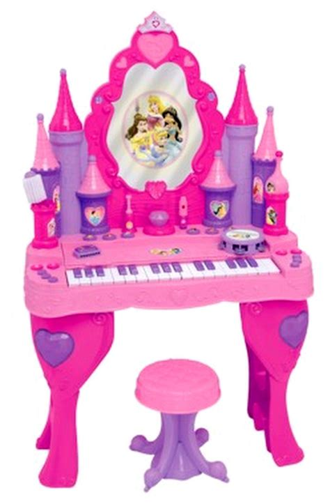 Disney Princess Magical Talking Vanity Disney Princess Piano Keyboard Vanity Salon Interactive Talking Magical Mirror Ebay
