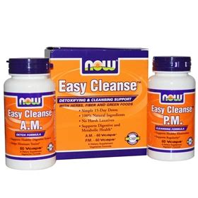 Now Detox Support Review by Now Easy Cleanse Am Pm