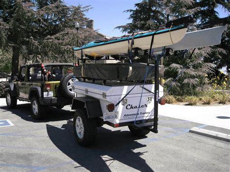jeep kayak trailer pop up trailers page 7 jk forum com the top