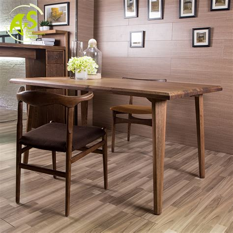 simple dining room table aisonhome import solid wood eat chair modern simple
