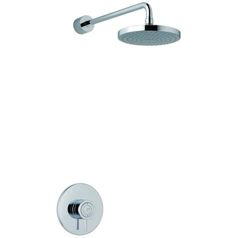 Built In Mixer Shower by Mira Element Built In Valve Thermoststic Mixer Shower Chrome