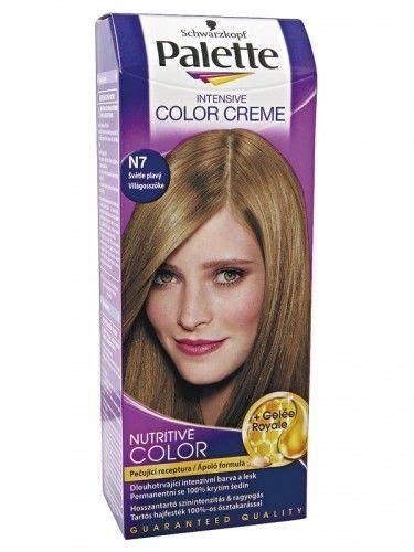 palette schwarzkopf schwarzkopf palette intensive color creme n7 light blonde