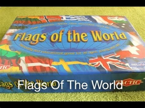 flags of the world tactic tactic flags of the world game youtube