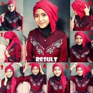 tutorial pashmina untuk kebaya 9 tutorial hijab pashmina untuk kebaya yang elegan dan