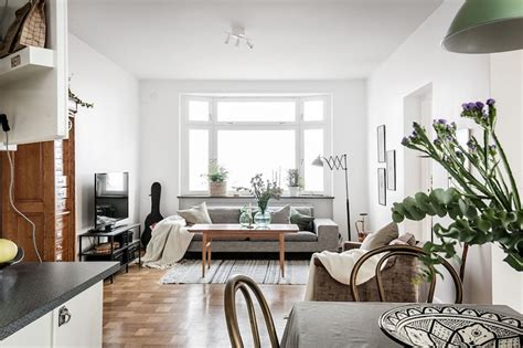 Vintage Interior Design Modern Vintage Interior Design In Swedish Apartment