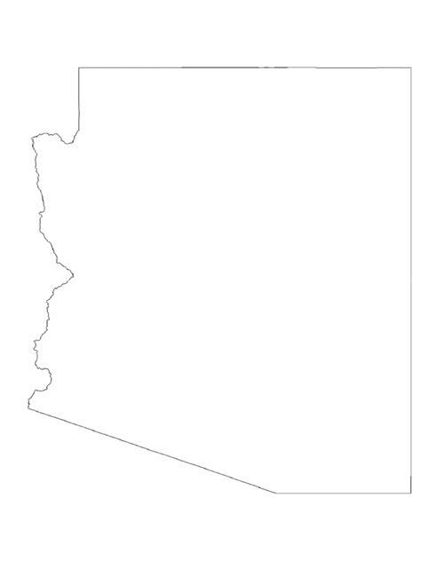 arizona map template 8 free templates in pdf word