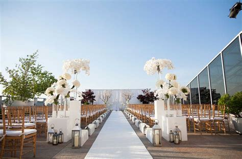 best wedding places in new rooftop wedding venues nyc boasting distinctive celebration
