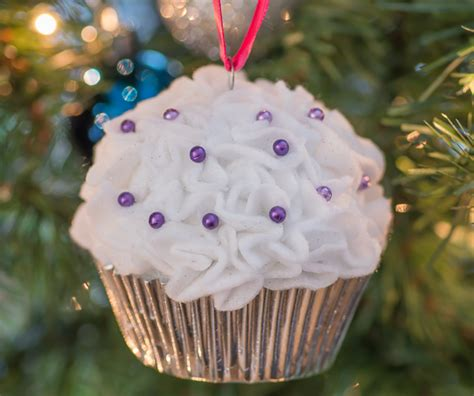 styrofoam cupcake ornament cupcake ornaments almost supermom