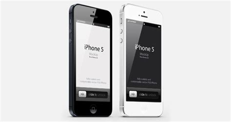 3 Iphone Mockup by 3 4 View Iphone 5 Psd Vector Mockup Psd Mock Up