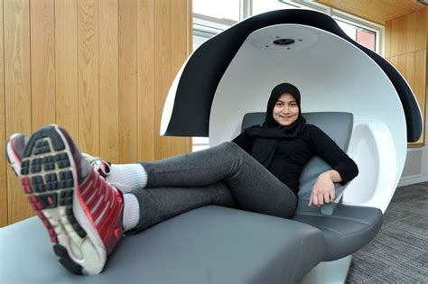 Google Sleep Pods by Manchester University Installs Futuristic Sleeping Pods At