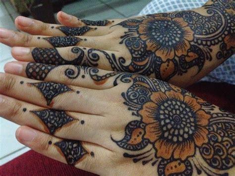 tato batik tangan 10 gambar tato tangan atau henna untuk pengantin tato