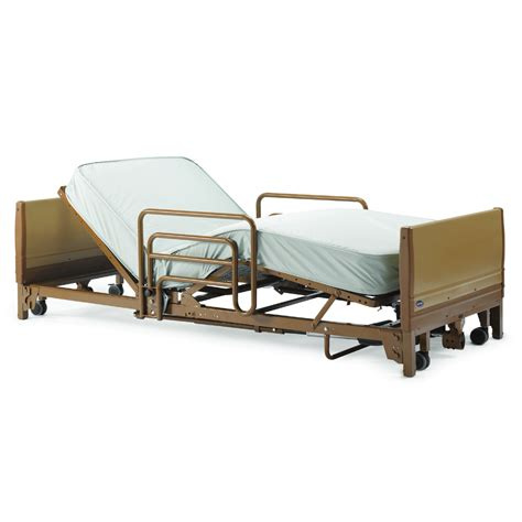 hospital beds for home invacare 5410 low bed full electric hospital bed package