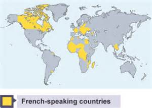 Countries In Asia That Speak French - bbc bitesize gcse french the french speaking world revision 1
