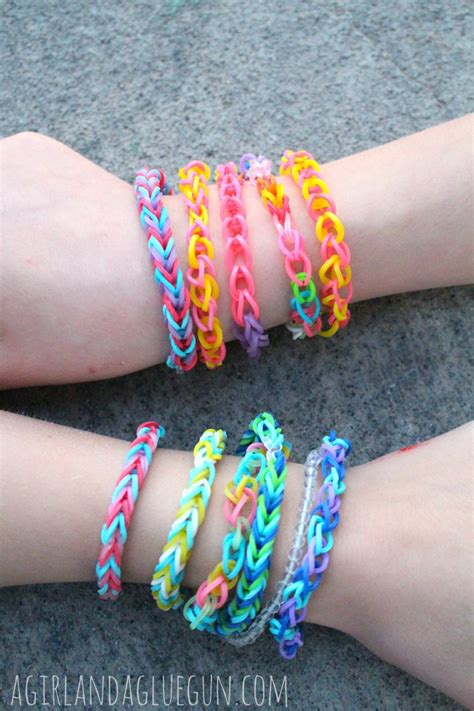 Rubber Band Necklace With Loom by Rubber Band Bracelets Without The Loom A And A