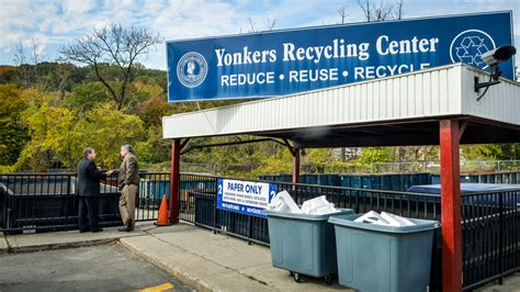 garbage recycling city  yonkers ny