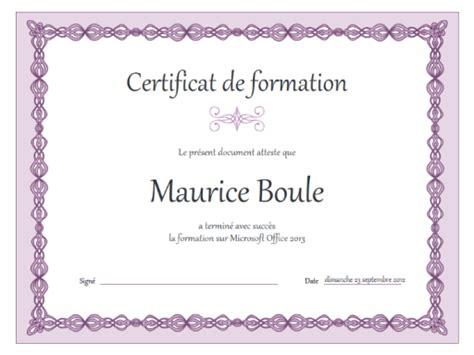 Exemple Lettre De Démission Clause De Non Concurrence Modele Certificat De Formation Word Document