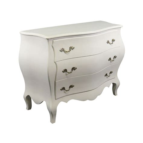 Commode Bébé Blanche by Commode Baroque Blanche Style Louis Xv Commodes