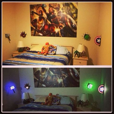 avengers bedroom accessories man pillow themed rooms and action figures on pinterest
