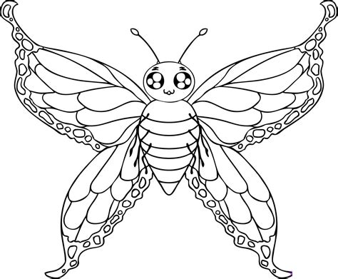 butterfly coloring pages cool butterfly coloring pages