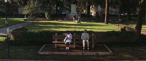 forrest gump park bench scene satire in action 15 minutes jonathan rosenbaum
