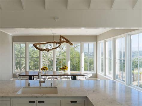 Window Treatments For Casement Windows Kitchen Farmhouse