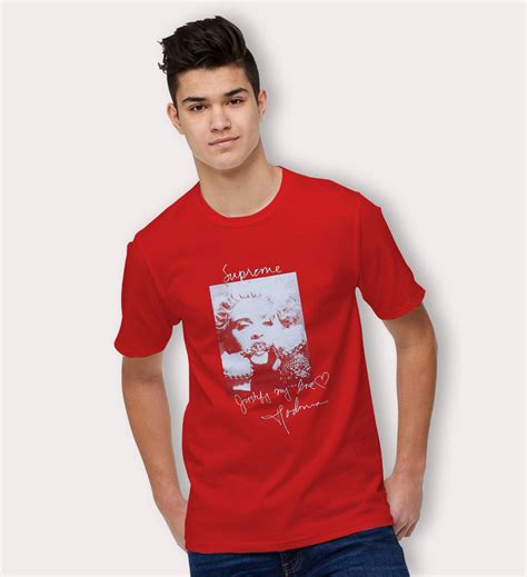 supreme cheap cheap supreme madonna t shirt hotvero
