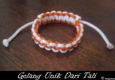 cara membuat gelang ikatan cara membuat gelang dari tali cara mudah