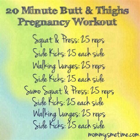 my pregnancy postpartum workout s me time