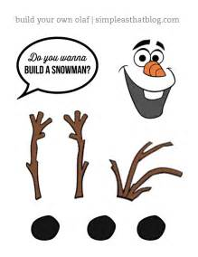 Olaf cut out printable and frozen olaf snowman template printable