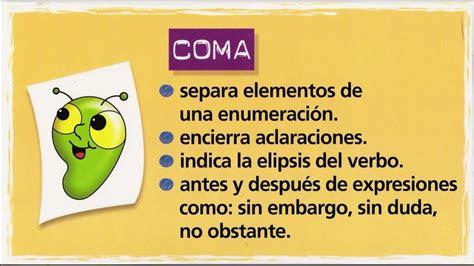imagenes educativas reglas ortograficas uso de la coma imagen imagenes educativas