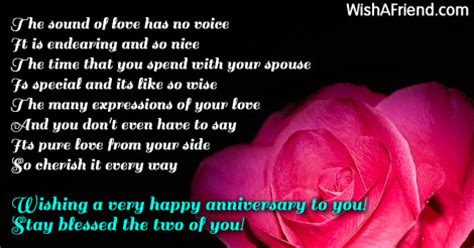 Wedding Wishes Voice by The Sound Of Has No Anniversary Wish