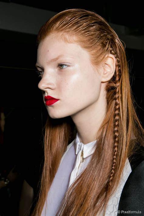 wet  braid hairstyle tutorial easy long hair party