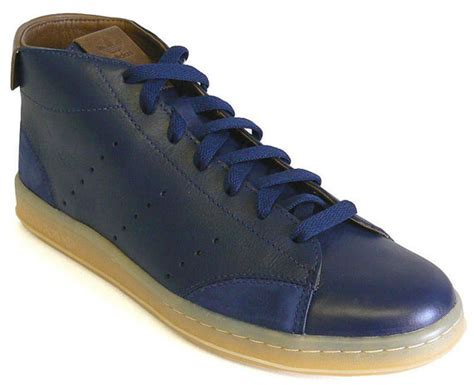 Casual Adidas Smith Brown adidas stan smith 80s mid casual brown navy