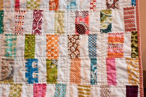 Quilting Bar by Craftyblossom Scrappy Bar Quilt
