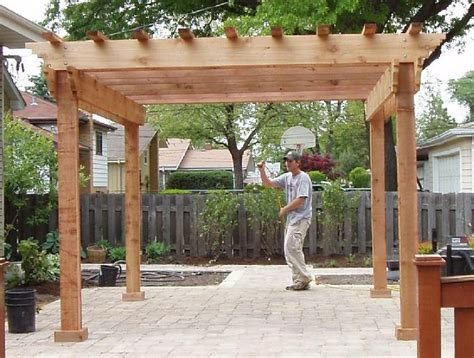 pergola design ideas 12x12 pergola plans best construction