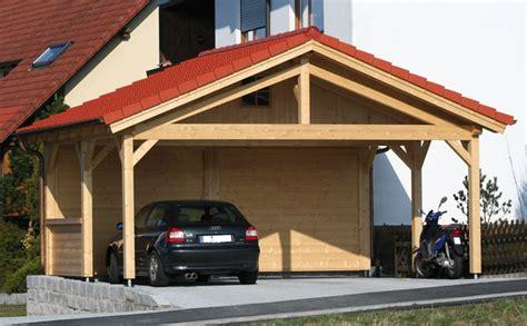 Log Garage Designs carport prestige 596x506 by forest log cabins and summerhouses