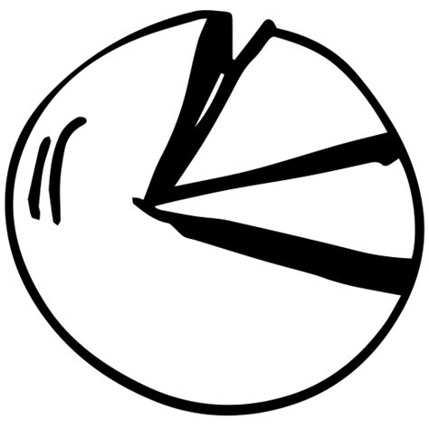 chart drawing pie chart icon myiconfinder