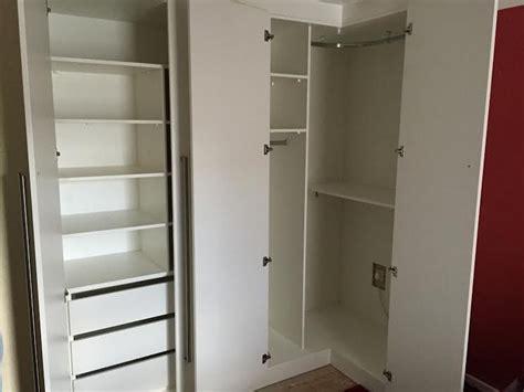 Extra bedroom storage space