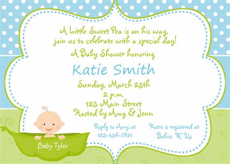 invitations to baby shower pea in a pod baby shower invitation sweet by thebutterflypress