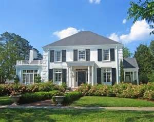colonial houses colonial house front porch pinterest