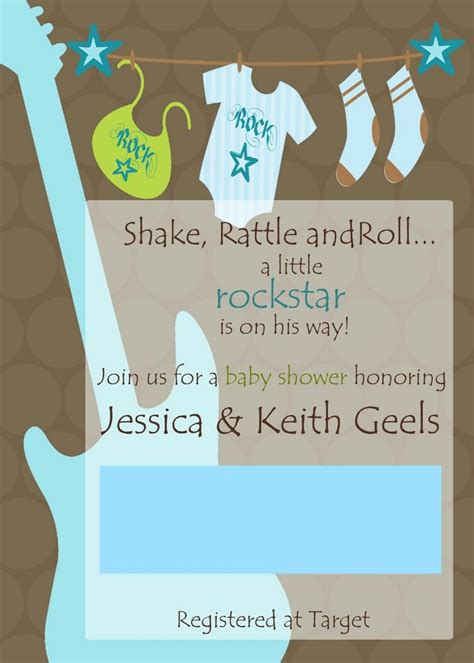 Rock And Roll Baby Shower by 1000 Images About Rock Baby Shower On