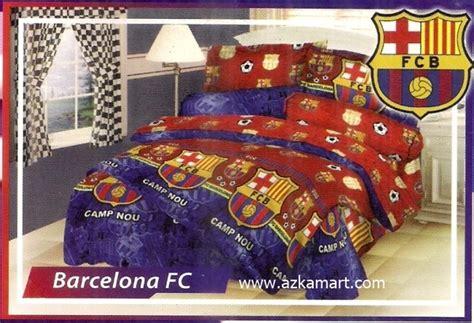 sprei dan selimut motif bola jual sprei bed cover selimut balmut motif klub bola