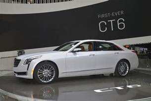 Nyc Cadillac 2016 Cadillac Ct6 At New York Auto Show Live Photos