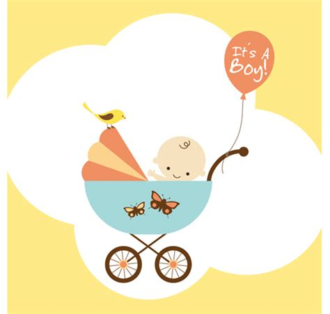 baby layout vector cute baby theme background design vector set 01 vector