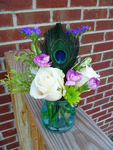 peacock wedding centerpiece wedding ideas