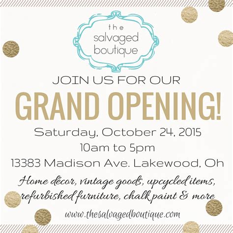 new shop opening invitation it s finally here grand opening announcement the