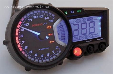 Motorrad Digitaltacho Umbau by N 225 Hr D 237 Ly Moto Nov 201 Př 237 Strojov 225 Deska Koso Rx2 Gp Style